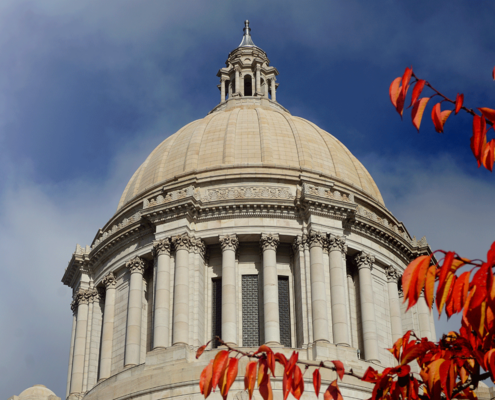 capital dome in the fall