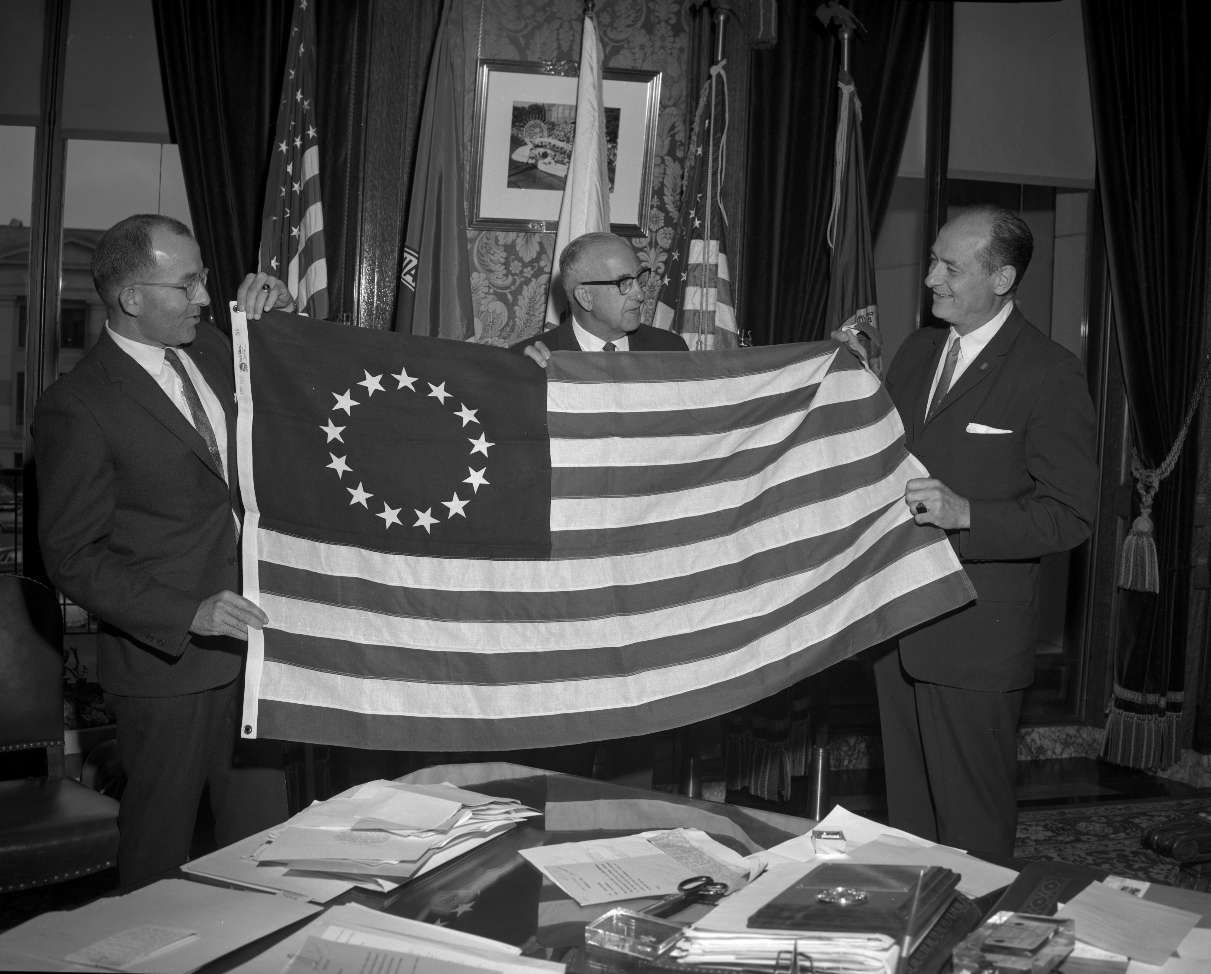 historical U.S. Flag