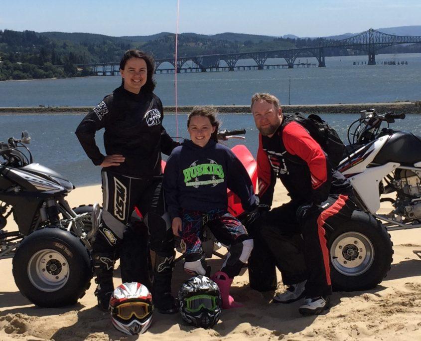 Kari Sample and family