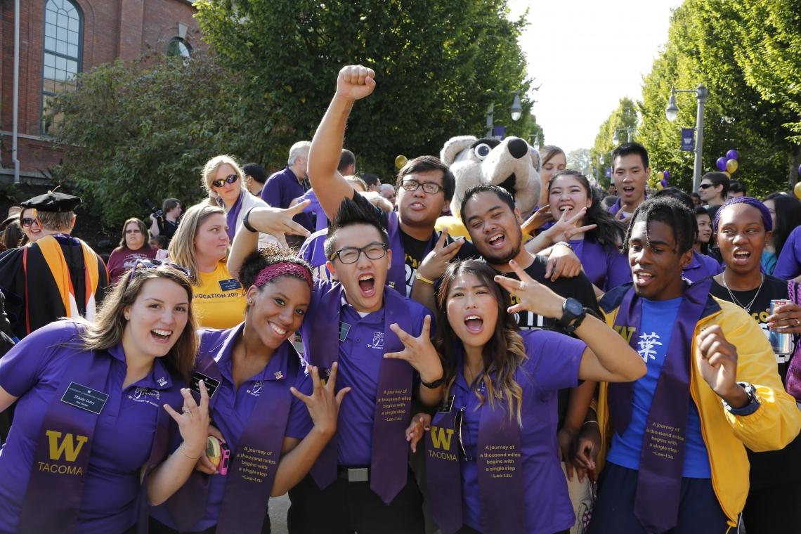 UWT students