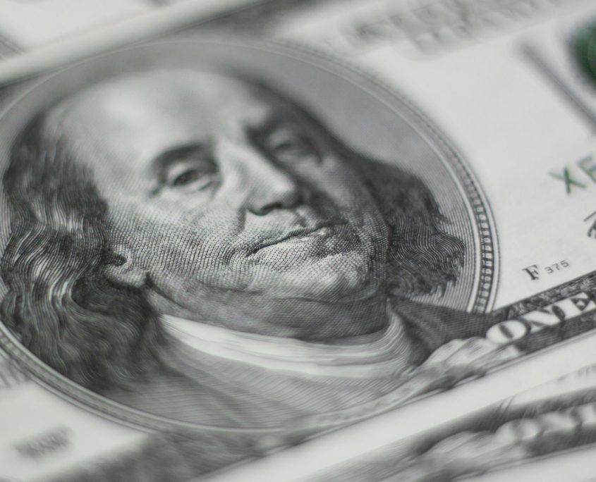 dollar bill face